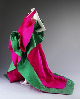 , 'Evening dress of silk,' 1987-1988, Victoria and Albert Museum (V&A)