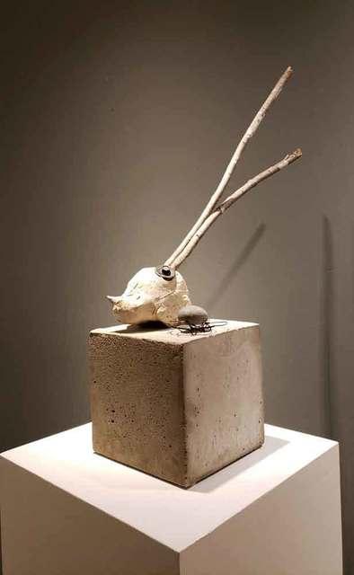 , ' Individual who has enjoyed life (Individu qui a su profiter de la vie),' 2019, Galerie Blanche
