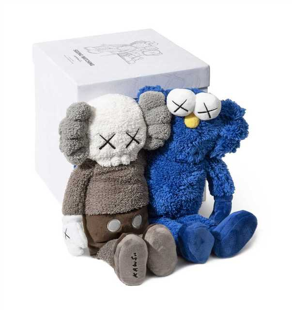 KAWS, 'Seeing/Watching', 2018, Other, Plush figures, Tate Ward Auctions