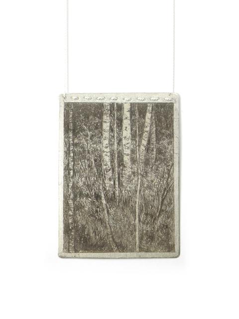 , 'Forest Homage Pendant II,' 2016, Jewelers'Werk Galerie