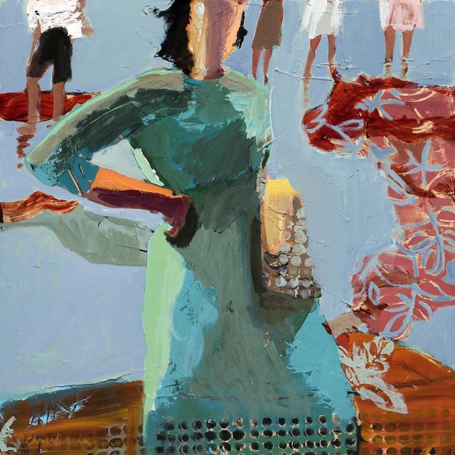 , 'Leaving,' 2015, Sue Greenwood Fine Art