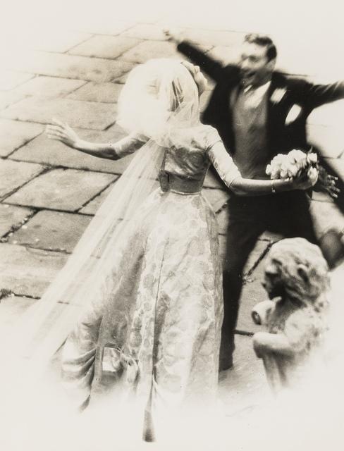 Norman Parkinson, 'The Wedding Embrace; Wedding Couple with Bridesmaids', 1950s, Forum Auctions