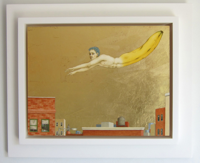 , 'BANANAMAN - To the Rescue,' 2010, Albert Merola Gallery