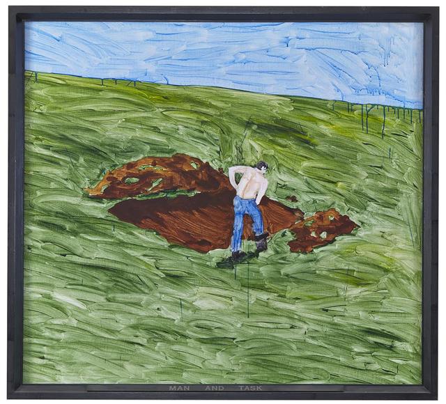 , 'Man and Task,' 1969, Barbara Mathes Gallery