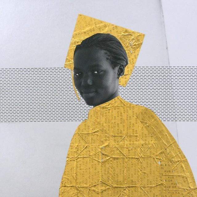 , 'Aminata #2, Or serie,' 2013, Galerie Cécile Fakhoury - Abidjan