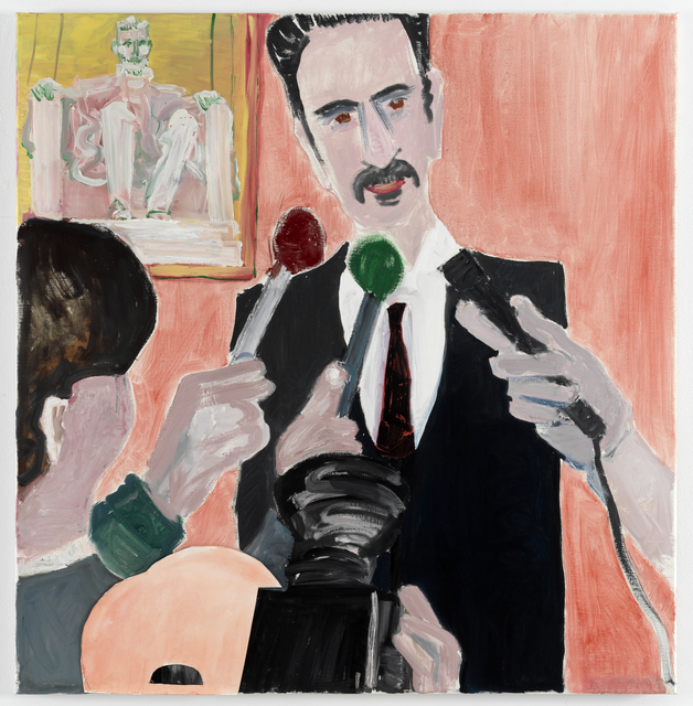 , 'Frank Zappa,' 2011, Luhring Augustine