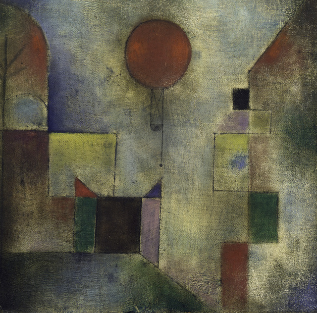 , 'Red Balloon (Roter Ballon),' 1922, Guggenheim Museum