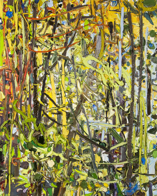 Lilian Garcia-Roig, 'Cadmium Fall (NH)', 2006, Valley House Gallery & Sculpture Garden