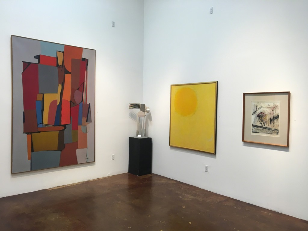 Large Louis Ribak and Michio Takayama painting included in our New Acquisitions Exhibition