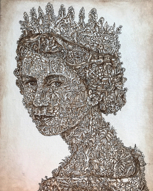 , 'Queen,' 2017, The Untitled Space