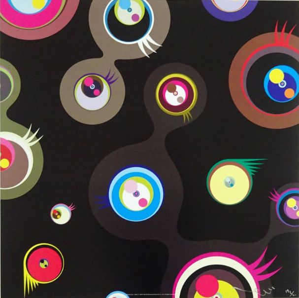 Takashi Murakami, 'Jellyfish Eyes Black #2', 2011, MSP Modern