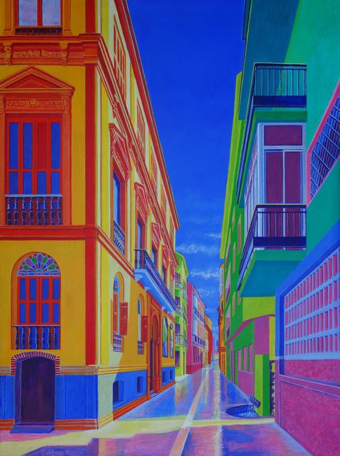 , 'Calle Beatas/Beatas Street (Malaga),' 2018, STOA