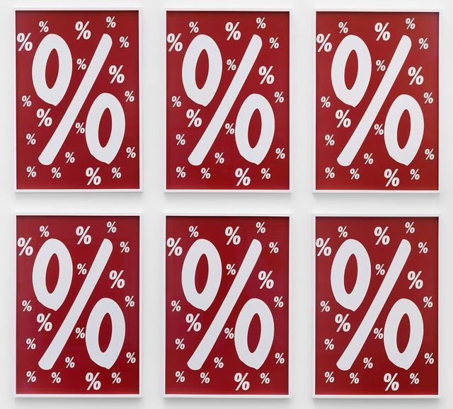 , 'Percent for Art,' 2013, KÖNIG GALERIE