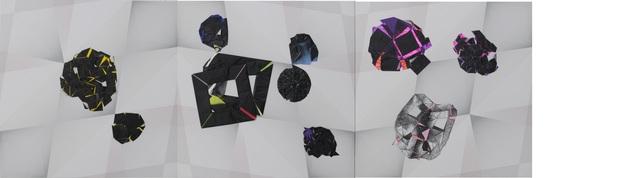 , 'Non-Foldings – Scenarios of Non-Geometric Folding #12,' 2015, Kukje Gallery