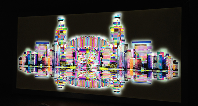 , 'New York,' 2014, Galleria Ca' d'Oro