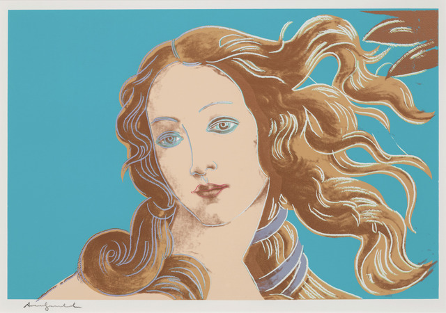 Andy Warhol, 'Details of Renaissance Paintings (Sandro Botticelli, Birth of Venus, 1482)', 1984, Susan Sheehan Gallery