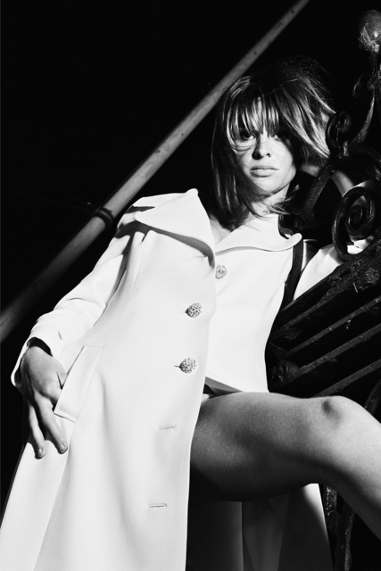 , 'Julie Christie in white mac,' 1966, Snap Galleries