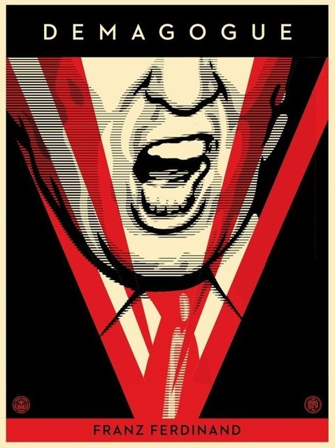 Shepard Fairey (OBEY), 'Demagogue (Trump)', 2016, Julien's Auctions