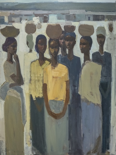 , 'Pillars of Life: Strength II,' 2019, Addis Fine Art