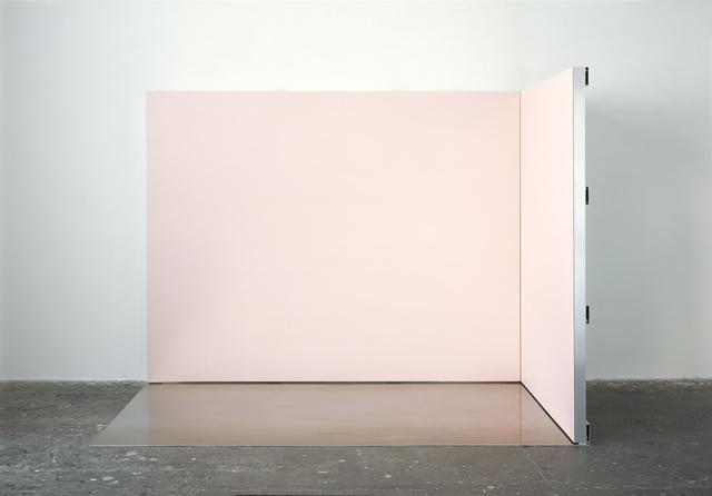 , 'Ort-Rosa,' 2013, White Cube