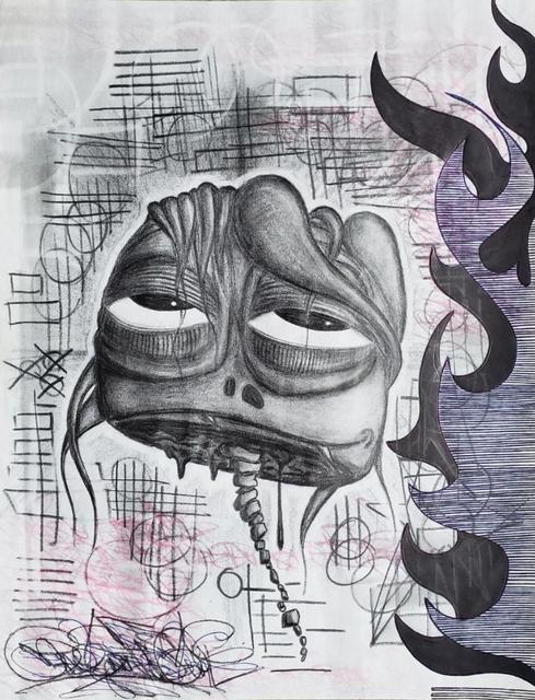 AholSniffsGlue, 'Neck Bone Scoliosis', 2006, Miami Art Society