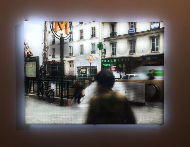 , 'Paris Metro,' 2014, Bryce Wolkowitz Gallery