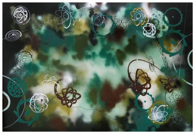 , 'Untitled Camo,' , Lazinc