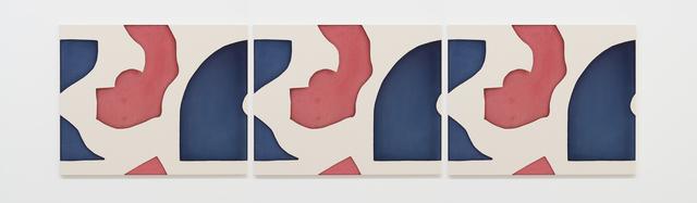 , 'Untitled (Blue Red 1),' 2016, Galleria Massimo Minini