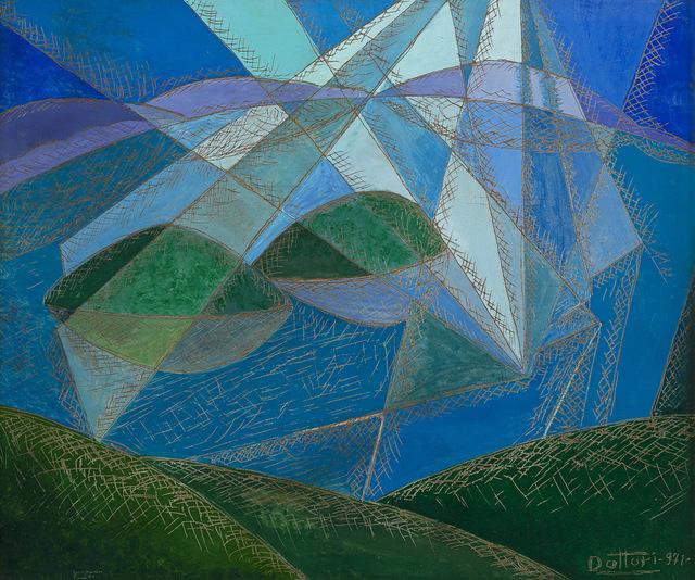 Gerardo Dottori, 'Luci sul lago', 1971, Finarte