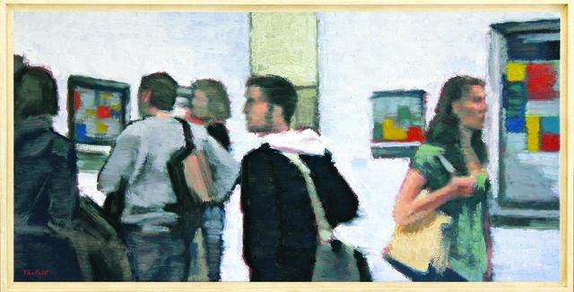, 'Murmure, Exposition Mondrian,' 2010, Galerie Art Jingle