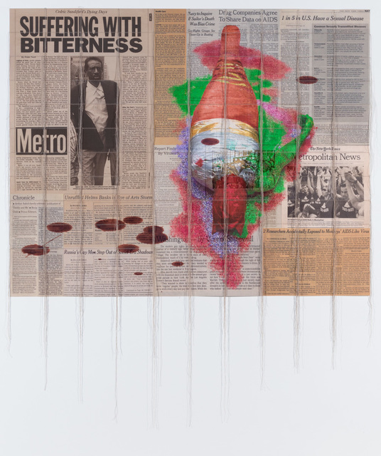 , 'Suffering with Bitterness,' 2015, P.P.O.W