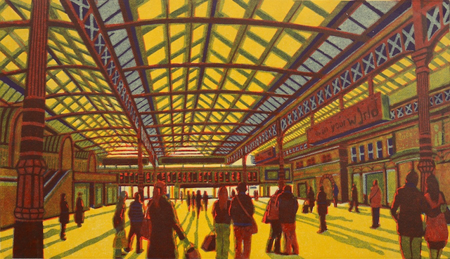 , 'Poetry of Departures,' 2013, Eames Fine Art