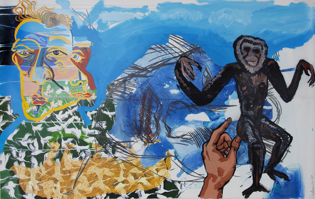 , 'Gibbon with Camel's Hump (Dartmouth),' 2013, Cade Tompkins Projects