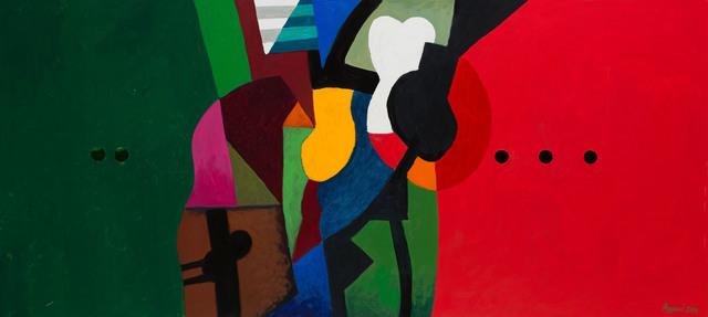 , 'Landscape 1,' 2014, Claude Lemand