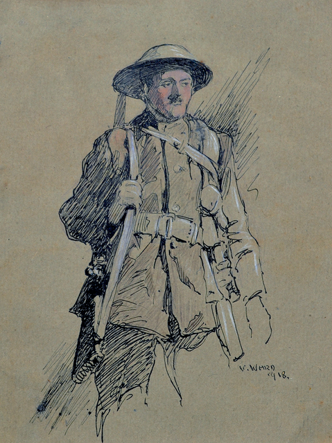 , 'Rifleman,' 1918, Darnley Fine Art
