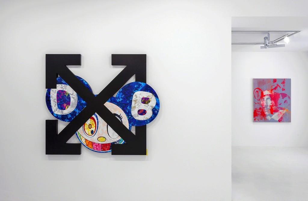 Artworks © Virgil Abloh and © Takashi Murakami. Photo: Zarko Vijatovic. Courtesy Gagosian.