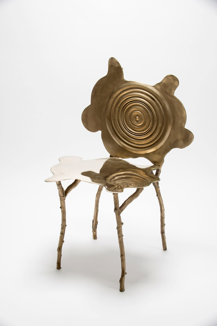, 'Ripple Rorschach Chair 2,' 2018, Wexler Gallery