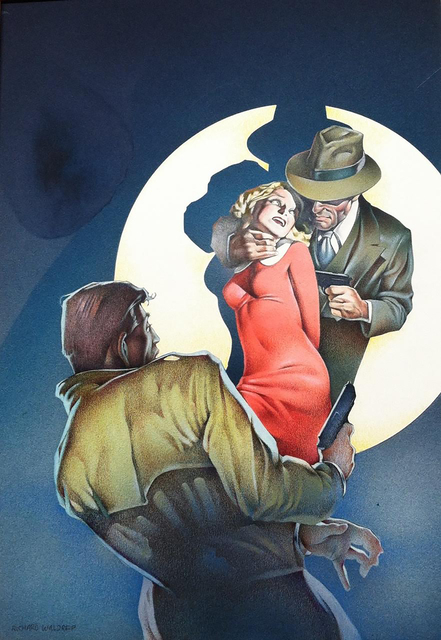 Richard Waldrep, 'The Big Sleep, Paperback Cover', 1976, The Illustrated Gallery