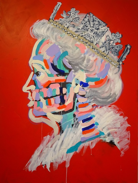 , 'My Queen,' 2016, Maddox Gallery
