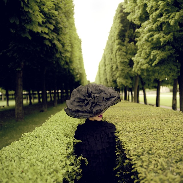 , 'Woman with Hat Between Hedges, France,' 2004, Gilman Contemporary