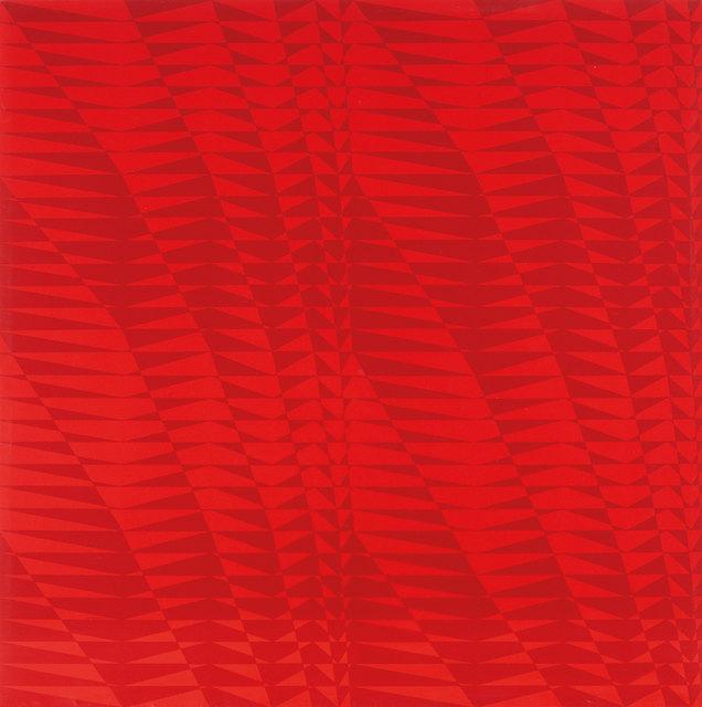 , 'Strutture in BX 2,' 1965-1967, Mazzoleni