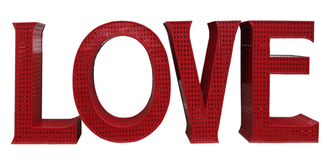 , 'Red Love,' 2016, HG Contemporary