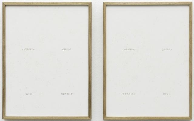 , 'Onde estão os homens? (depois de Rugendas) [where are the men? (after Rugendas)],' 2015, Casa Triângulo