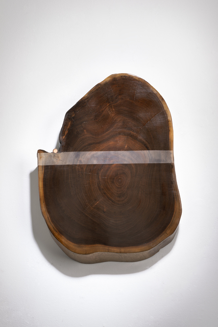 Betty McGeehan, 'Minimal Wood Abstract Sculpture: 'Striptease'', 2015-18, Ivy Brown Gallery