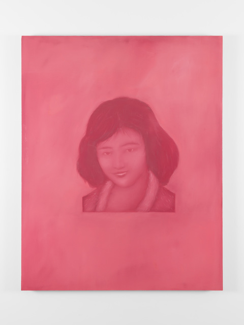 , 'Young Woman (After 1930s Chinese Insect Repellent Poster),' 2018, Christine Park Gallery