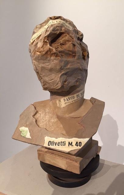 , 'Roman Head 2,' 2014, Lia Rumma