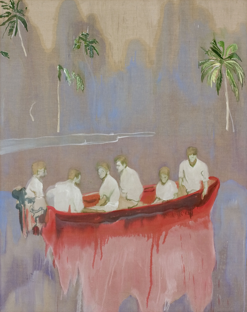 , 'Figures in Red Boat,' 2005-2007, Fondation Beyeler