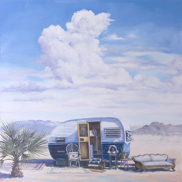 , 'Throne of Hearts,' 2016, Joshua Tree Art Gallery