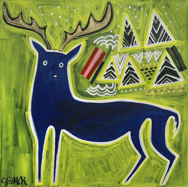 Jessica JH Roller, 'Blue Buck', 2015, UGallery