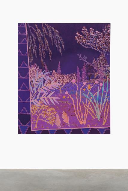 , 'cinder bright beckoning,' 2016, Almine Rech